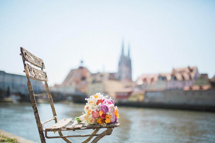 Hochzeitsstrauss Regensburg Dom