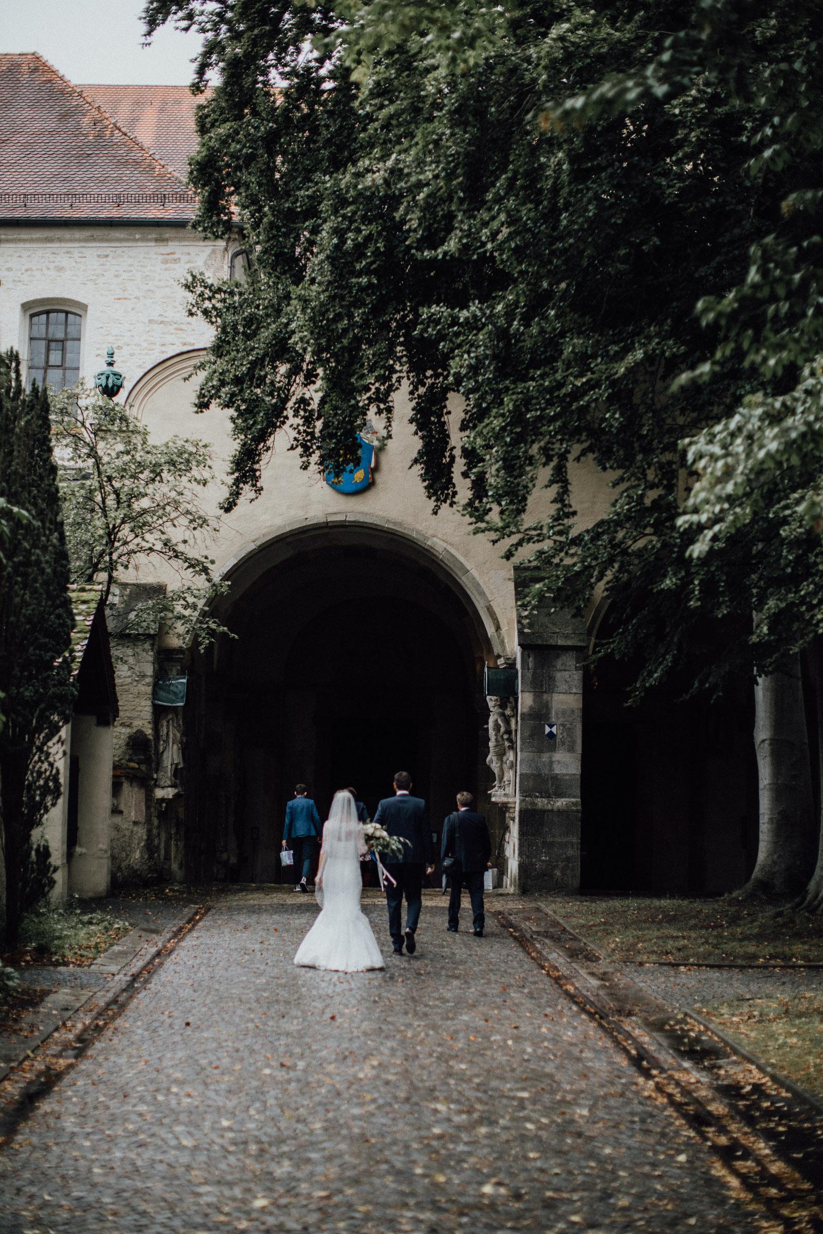 Regenhochzeit in der Basilika St. Emmeram in Regensburg 44