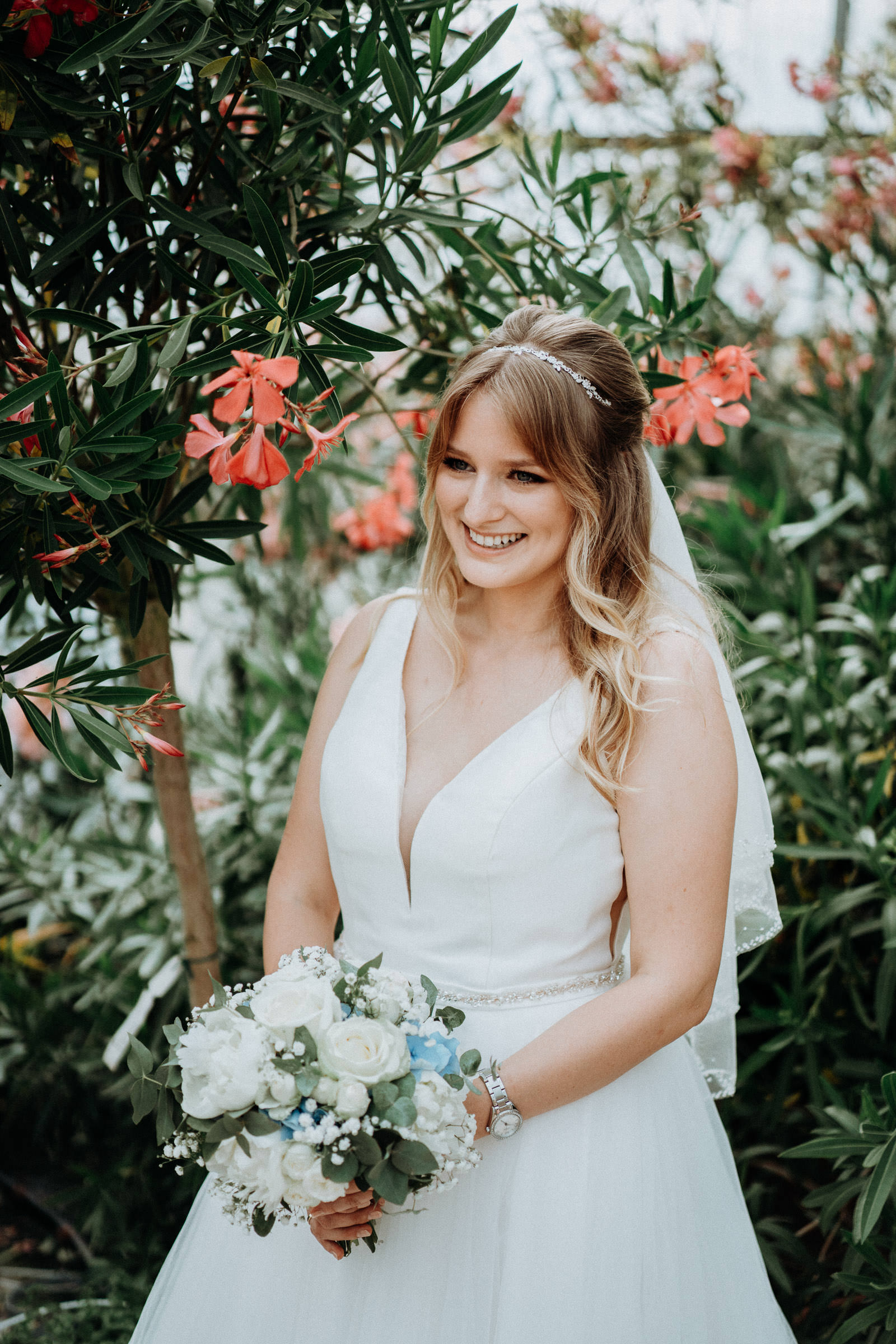 Greenery Wedding von Sabrina und Alex im Flora Mediterranea 13