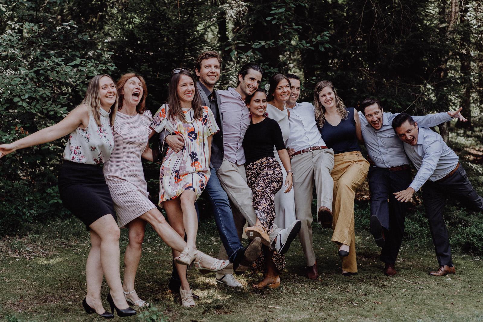 Bayrisch-Kolumbianische Hochzeit im bayerischen Wald 62