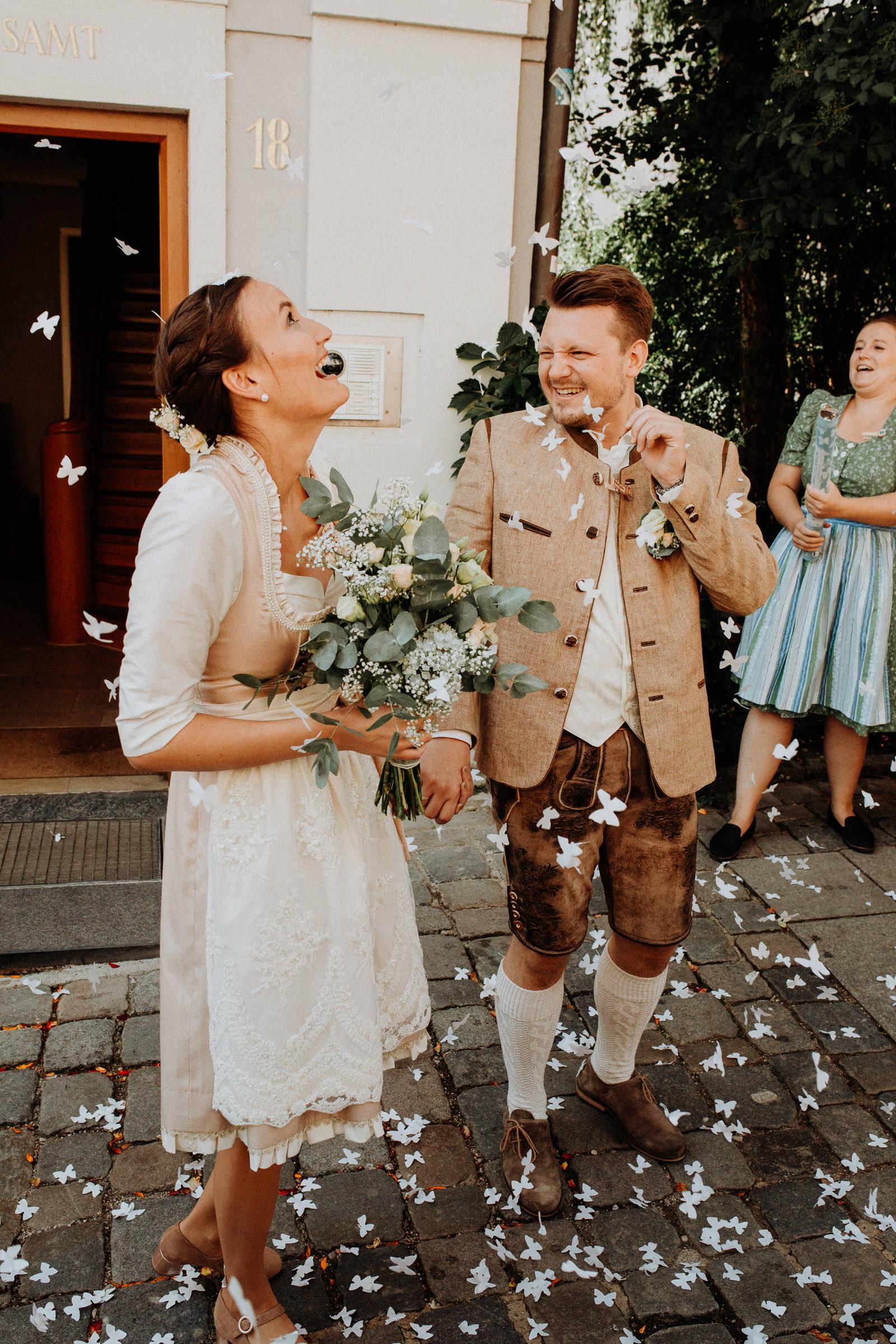 Standesamtliche Hochzeit in Freising, Weihenstephan 10