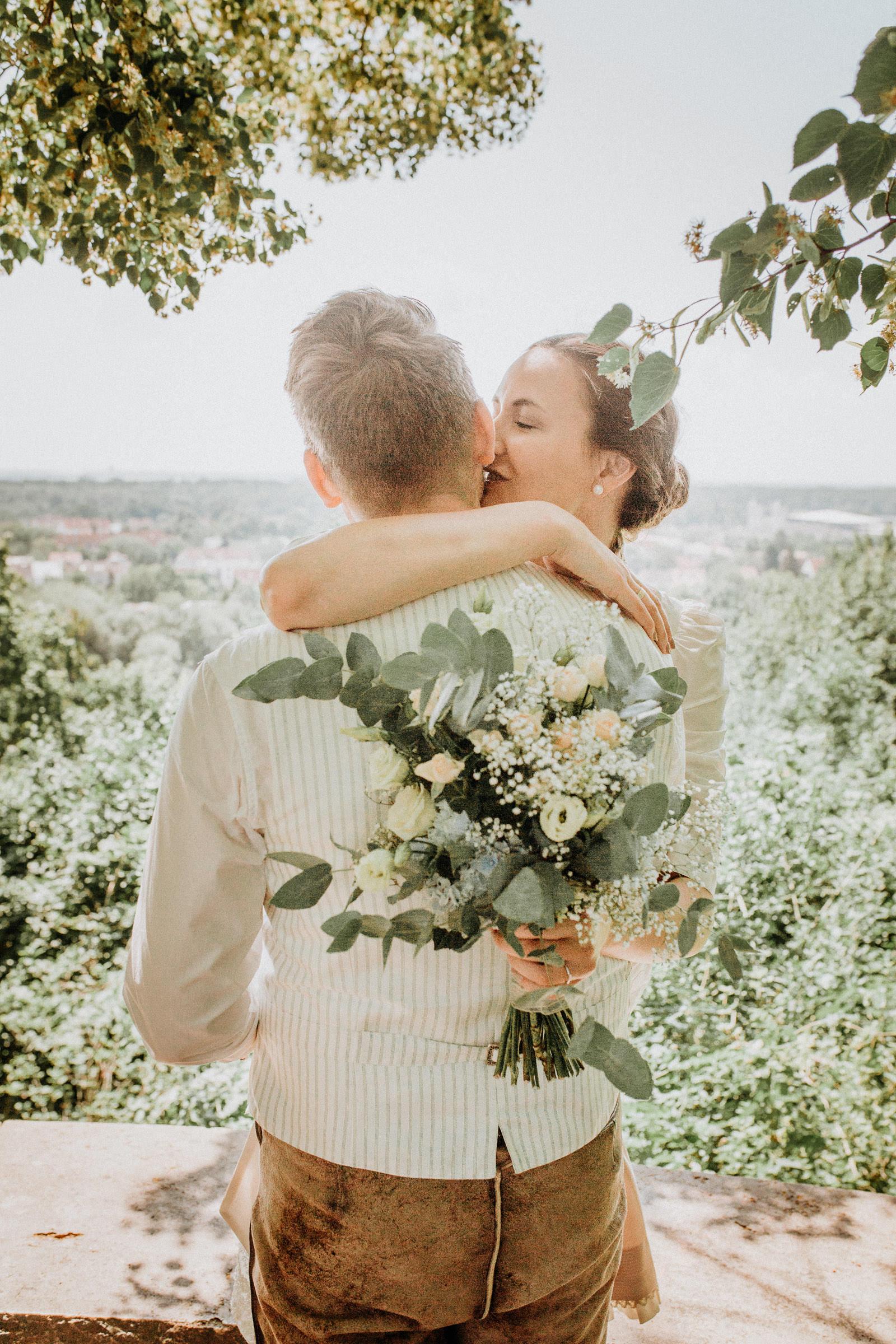 Standesamtliche Hochzeit in Freising, Weihenstephan 28