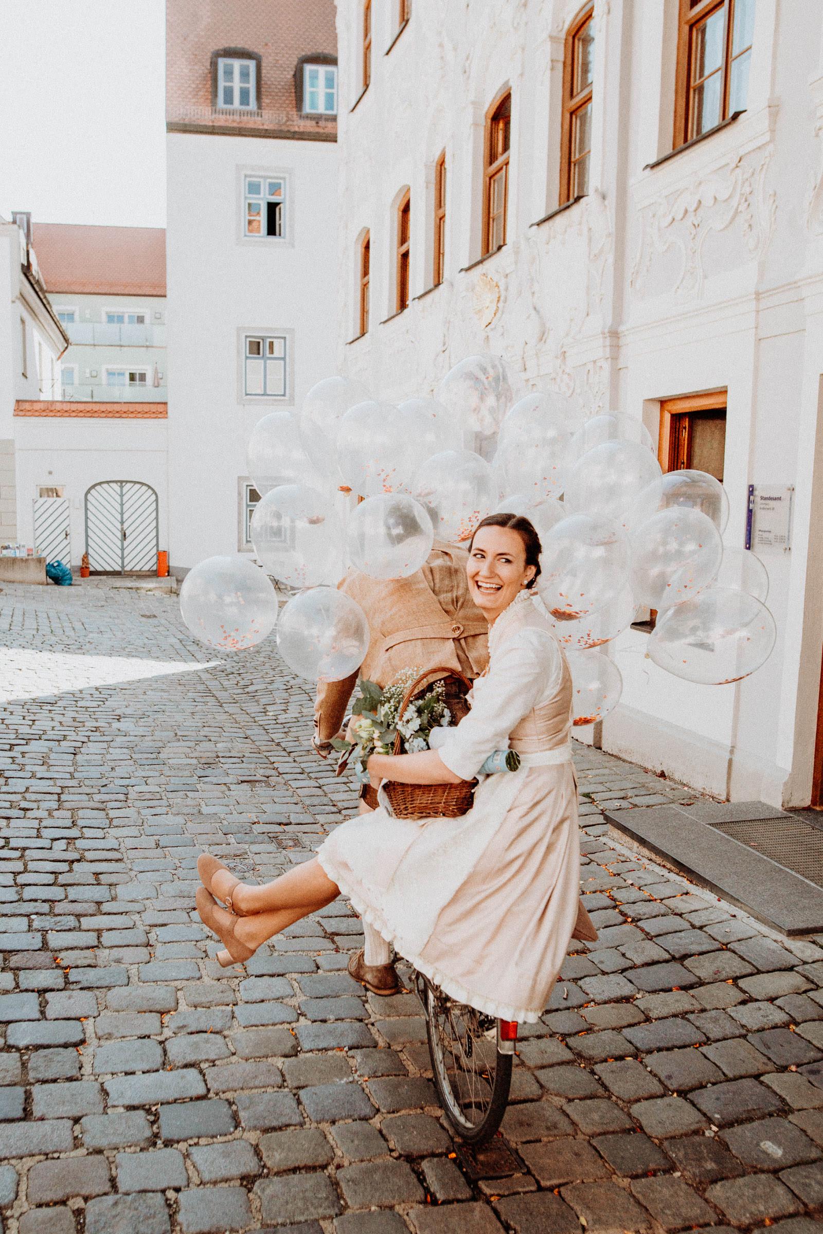 Standesamtliche Hochzeit in Freising, Weihenstephan 2