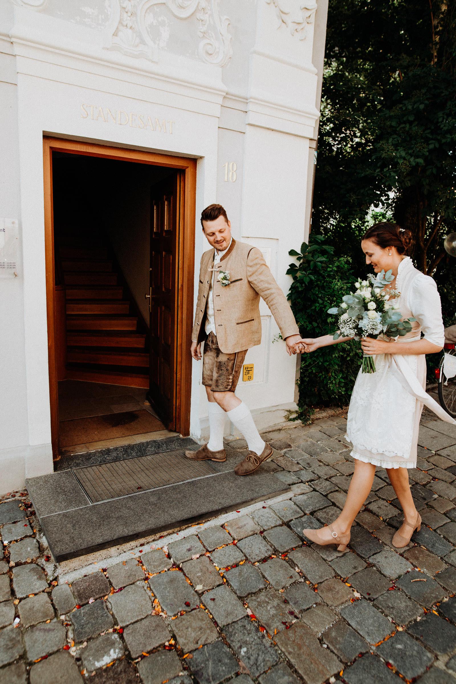 Standesamtliche Hochzeit in Freising, Weihenstephan 3