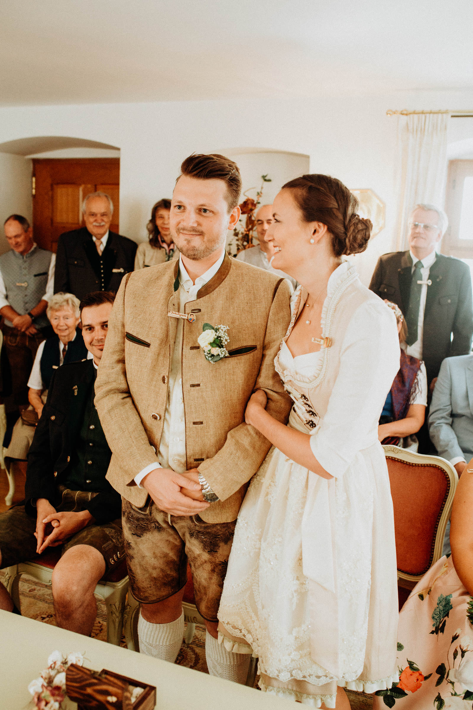 Standesamtliche Hochzeit in Freising, Weihenstephan 6