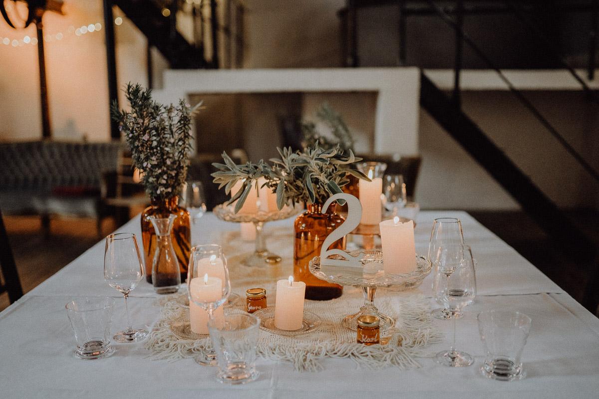 Tisch des Brautpaars