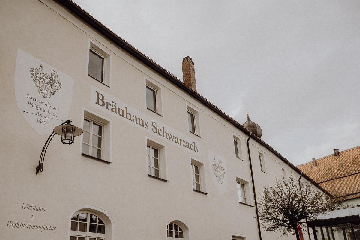 Bräuhaus Schwarzach Aussenansicht