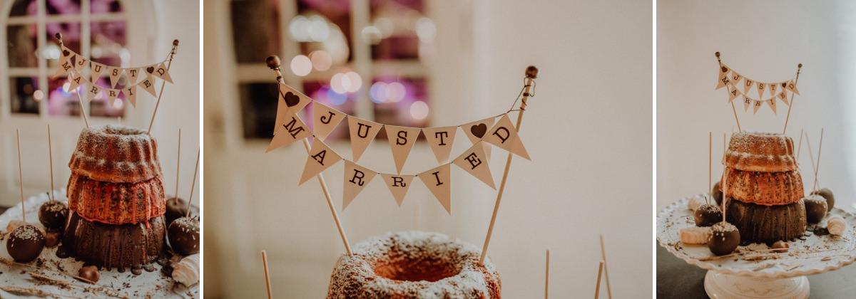 Kaffee und Kuchen bei Hochzeiten