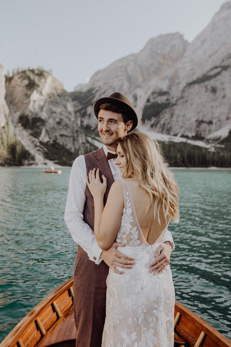 elopement hochzeit lago di braies